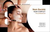 personnaliser maquette carte de visite centre esthetique  masque masque du visage soin du visage MLGI27035