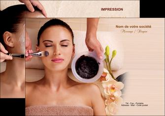 personnaliser maquette flyers centre esthetique  masque masque du visage soin du visage MLGI27056