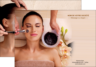 imprimerie affiche centre esthetique  masque masque du visage soin du visage MLGI27058