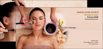 exemple carte de correspondance centre esthetique  masque masque du visage soin du visage MLGI27060