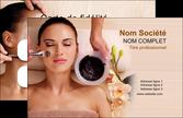 creation graphique en ligne carte de visite salon de coiffure masque masque du visage soin du visage MLGI27072