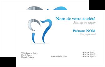 Imprimerie Carte De Visite Dentiste Dents Soins Dentaires Caries MLGI27166
