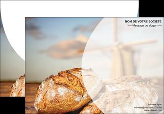 realiser affiche sandwicherie et fast food boulangerie boulanger boulange MIF27210