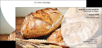 faire modele a imprimer carte de correspondance sandwicherie et fast food boulangerie boulanger boulange MLGI27212