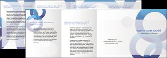 creer modele en ligne depliant 4 volets  8 pages  texture contexture structure MIF27238