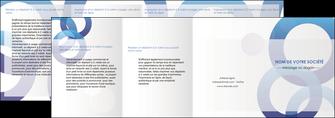 modele en ligne depliant 4 volets  8 pages  texture contexture structure MIF27240