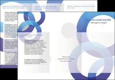 impression depliant 3 volets  6 pages  texture contexture structure MIF27250