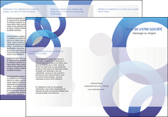 impression depliant 3 volets  6 pages  texture contexture structure MLIG27250
