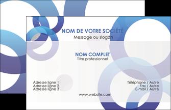 Impression carte visite pelliculage mat  papier à prix discount et format Carte de Visite - Paysage