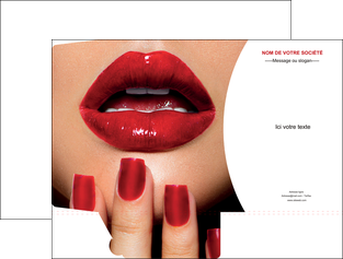 imprimer pochette a rabat centre esthetique  ongles vernis vernis a ongles MLGI27372