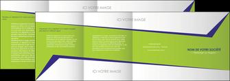 imprimerie depliant 4 volets  8 pages  texture contexture structure MLGI27384