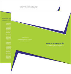 exemple depliant 2 volets  4 pages  texture contexture structure MLIGBE27388