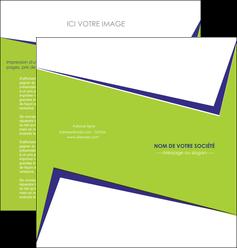 exemple depliant 2 volets  4 pages  texture contexture structure MLGI27388