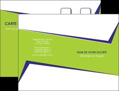 Commander cartes visites pelliculage mat  Carte commerciale de fidélité cartes-visites-pelliculage-mat Carte de visite Double - Portrait