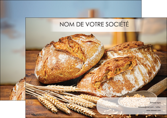 creation graphique en ligne affiche sandwicherie et fast food boulangerie boulanger boulange MLGI27442