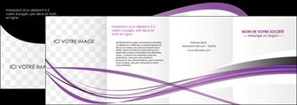 imprimerie depliant 4 volets  8 pages  textures contextures structure MLIG27474