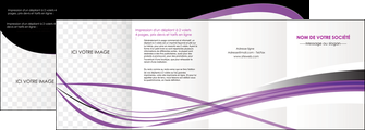 impression depliant 4 volets  8 pages  textures contextures structure MIF27476