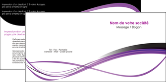 personnaliser modele de depliant 2 volets  4 pages  textures contextures structure MLIG27496