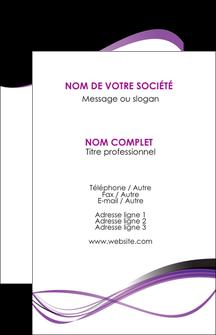Impression carte visite en pelliculage  devis d'imprimeur publicitaire professionnel Carte de visite - Portrait