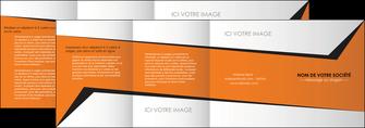 faire modele a imprimer depliant 4 volets  8 pages  textures contextures structure MIF27552