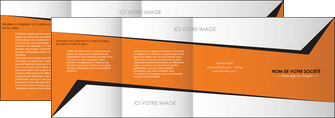 creer modele en ligne depliant 4 volets  8 pages  textures contextures structure MIF27554
