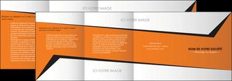creer modele en ligne depliant 4 volets  8 pages  textures contextures structure MLIG27554