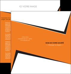 exemple depliant 2 volets  4 pages  textures contextures structure MIF27558