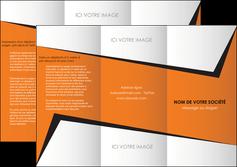 imprimerie depliant 3 volets  6 pages  textures contextures structure MIF27564