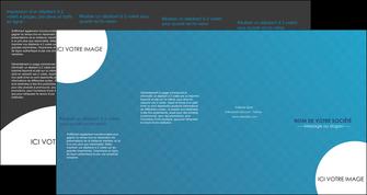 faire depliant 4 volets  8 pages  texture contexture structure MIF27590