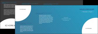impression depliant 4 volets  8 pages  texture contexture structure MIF27592