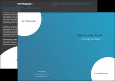 modele en ligne depliant 2 volets  4 pages  texture contexture structure MIF27596