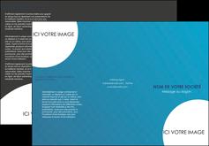 creer modele en ligne depliant 3 volets  6 pages  texture contexture structure MLIG27604