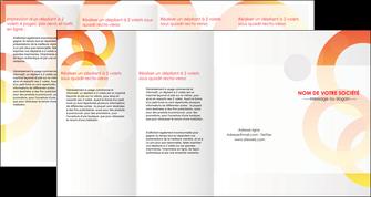 modele en ligne depliant 4 volets  8 pages  texture contexture structure MIF27640