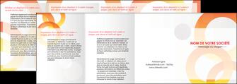 realiser depliant 4 volets  8 pages  texture contexture structure MIF27642