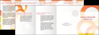 imprimerie depliant 4 volets  8 pages  texture contexture structure MIF27644