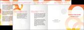 imprimerie depliant 4 volets  8 pages  texture contexture structure MLGI27644