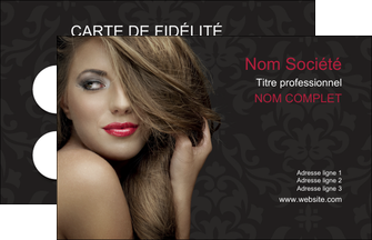 imprimerie carte de visite centre esthetique  coiffure salon de coiffure salon de beaute MLGI27714