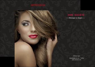 creation graphique en ligne flyers centre esthetique  coiffure salon de coiffure salon de beaute MLGI27718