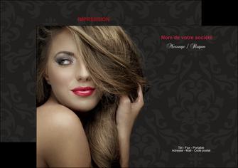 faire modele a imprimer flyers centre esthetique  coiffure salon de coiffure salon de beaute MLGI27720