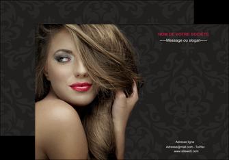 personnaliser modele de affiche centre esthetique  coiffure salon de coiffure salon de beaute MLGI27722