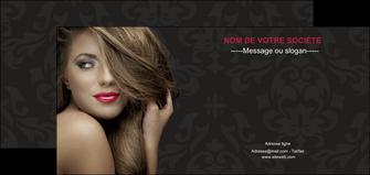 personnaliser modele de flyers centre esthetique  coiffure salon de coiffure salon de beaute MLGI27726