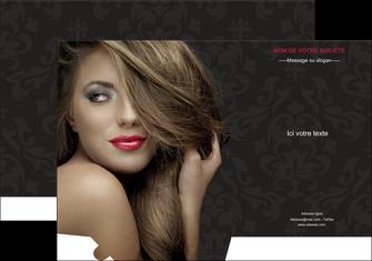creer modele en ligne pochette a rabat centre esthetique  coiffure salon de coiffure salon de beaute MLGI27732