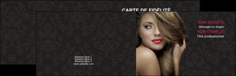 creer modele en ligne carte de visite centre esthetique  coiffure salon de coiffure salon de beaute MLGI27738