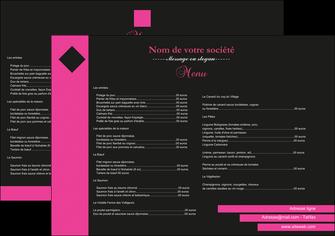 cree set de table restaurant menu restaurant restaurant francais MIF27870