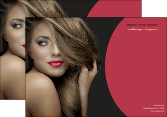 imprimerie affiche centre esthetique  cheveux coiffure salon de coiffure MLGI27938