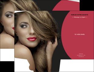 personnaliser modele de pochette a rabat centre esthetique  cheveux coiffure salon de coiffure MLGI27952