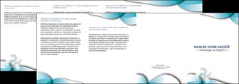 modele depliant 4 volets  8 pages  medecin texture contexture structure MLIG27966
