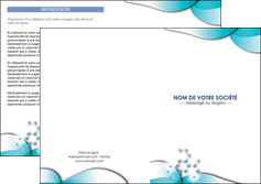 modele en ligne depliant 2 volets  4 pages  medecin texture contexture structure MLGI27970