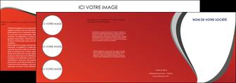 modele depliant 4 volets  8 pages  texture contexture structure MLIG28010