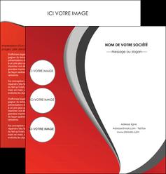 cree depliant 2 volets  4 pages  texture contexture structure MLIG28014